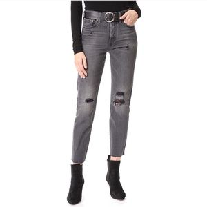 Levi's | Wedgie Icon Distressed High Rise Straight